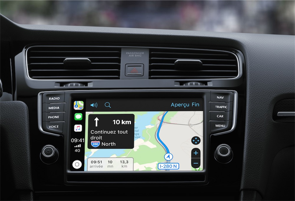 ios 12 et carplay le point sur les apps de navigation igeneration. Black Bedroom Furniture Sets. Home Design Ideas