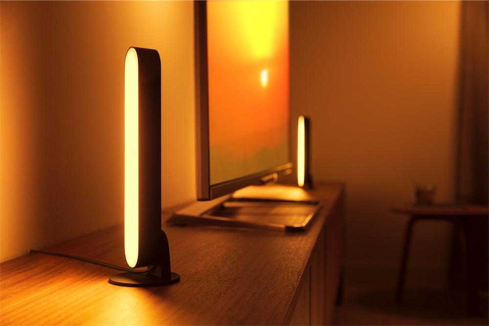Signal et Play, des barres lumineuses Philips Hue pour la