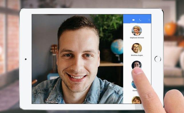 Google Duo arrive enfin sur les tablettes iOS et Android