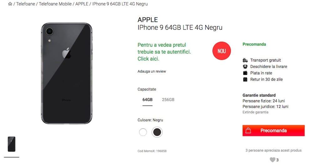 L'iPhone LCD de 6,1 pouces en maquettes colorées